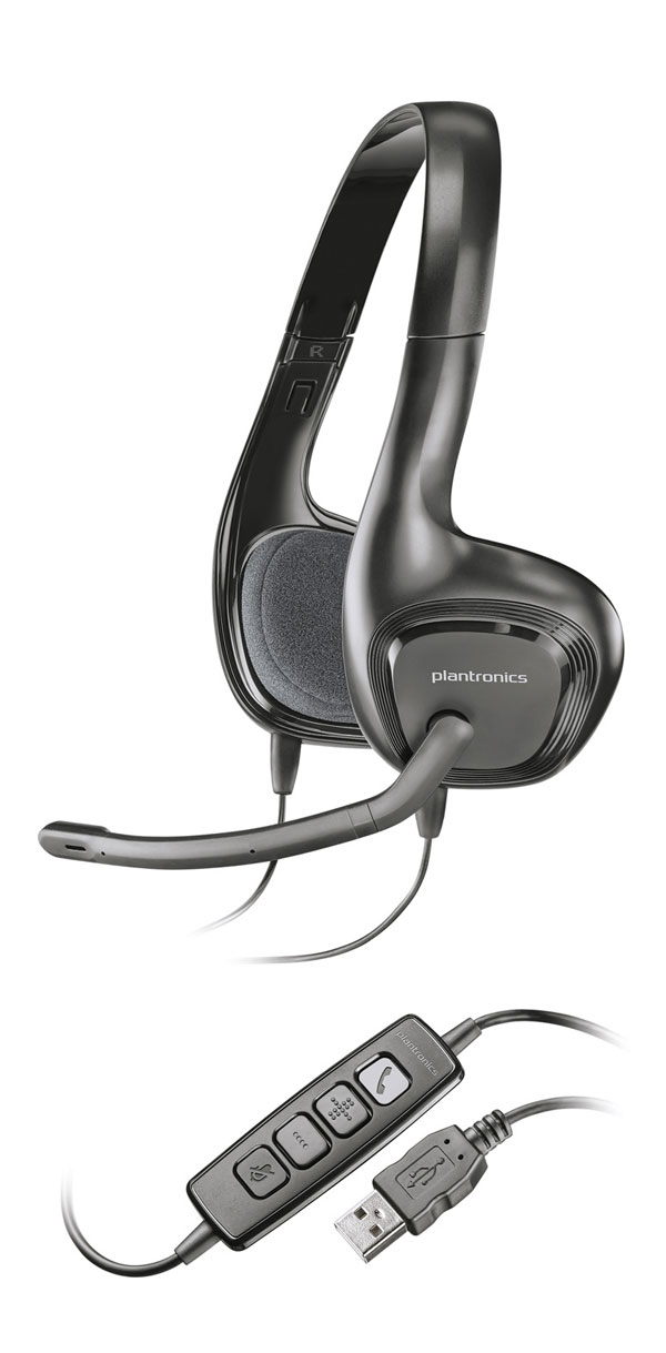 Стереогарнитура USB Plantronics .Audio 628